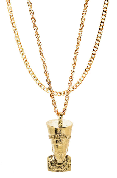 Mister  Nefertiti Necklace - Gold - Mister SFC - 1