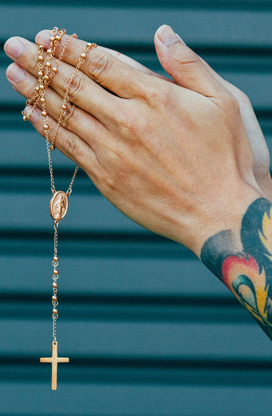 *Mister Rosary Necklace - Rose Gold - Mister SFC - 2