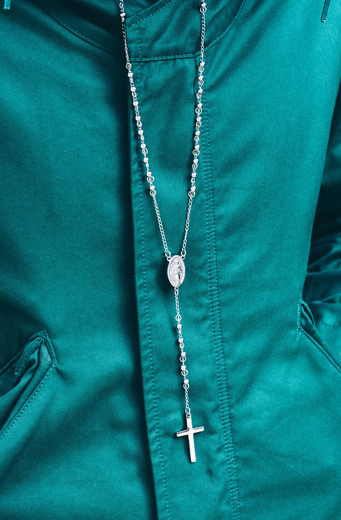 *Mister Rosary Necklace - Chrome - Mister SFC - 2