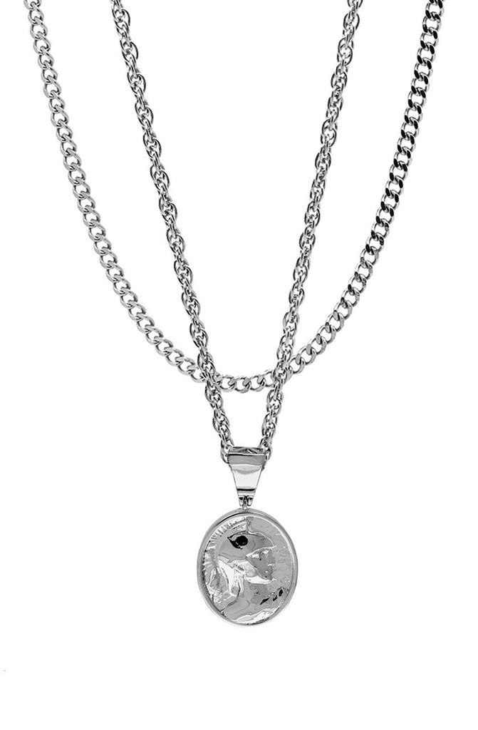 Mister  Gladiator Necklace - Chrome - Mister SFC