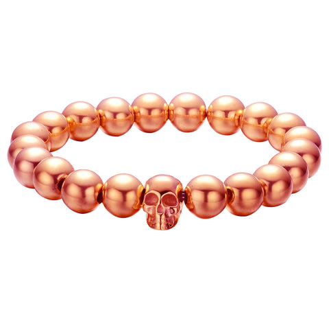 Mister Annum Plus Bead Bracelet - Rose Gold