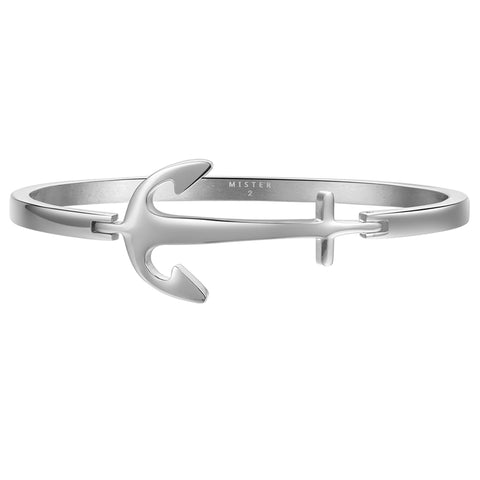 *Mister Axle Anchor Bracelet - Chrome