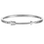 *Mister Axle Arrow Bracelet - Chrome