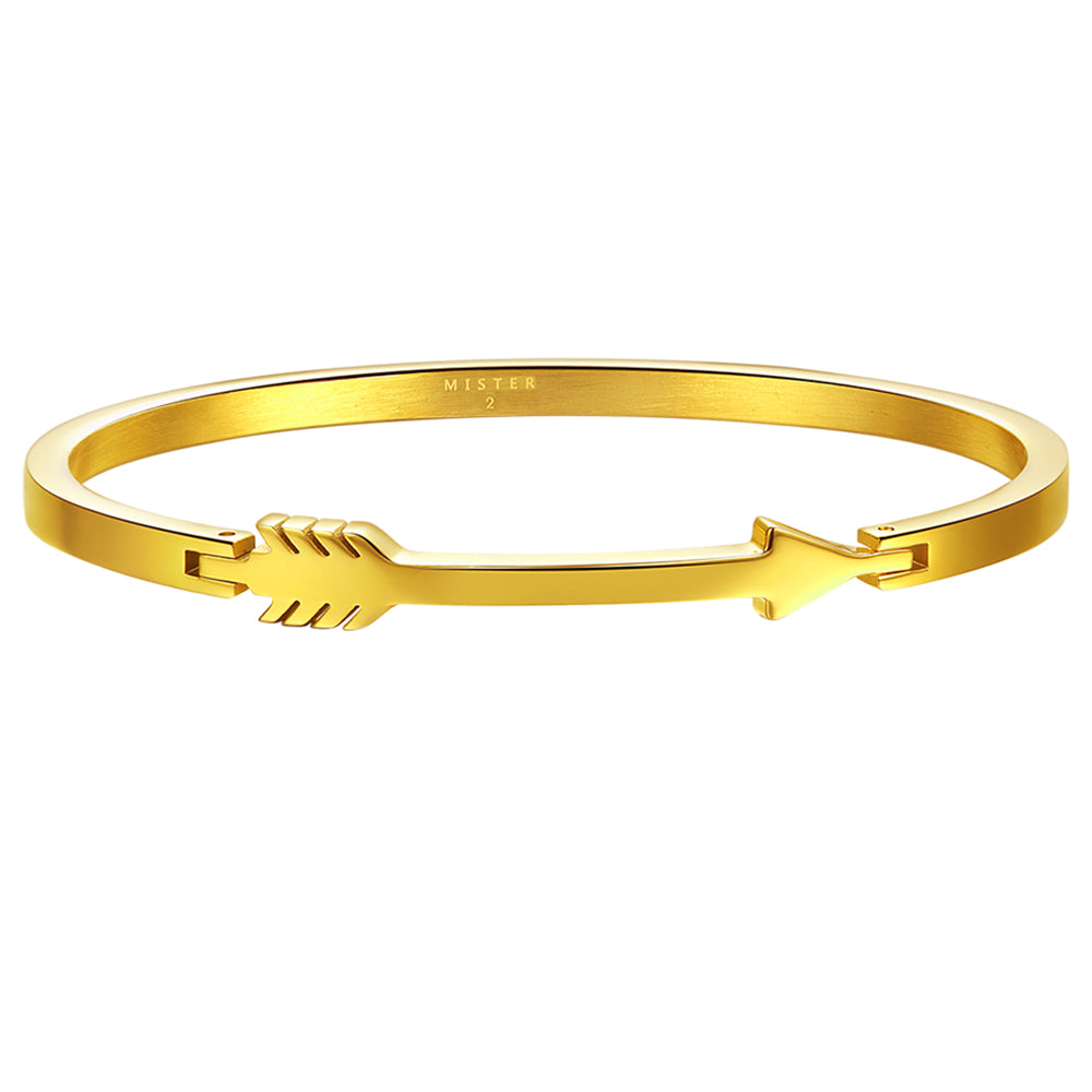 *Mister Axle Arrow Bracelet - Gold