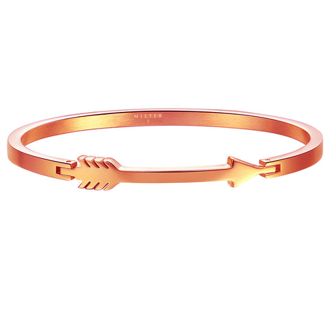 *Mister Axle Arrow Bracelet - Rose Gold