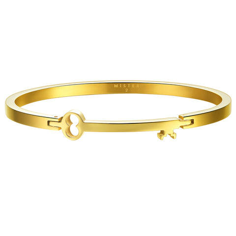 *Mister Axle Key Bracelet - Gold