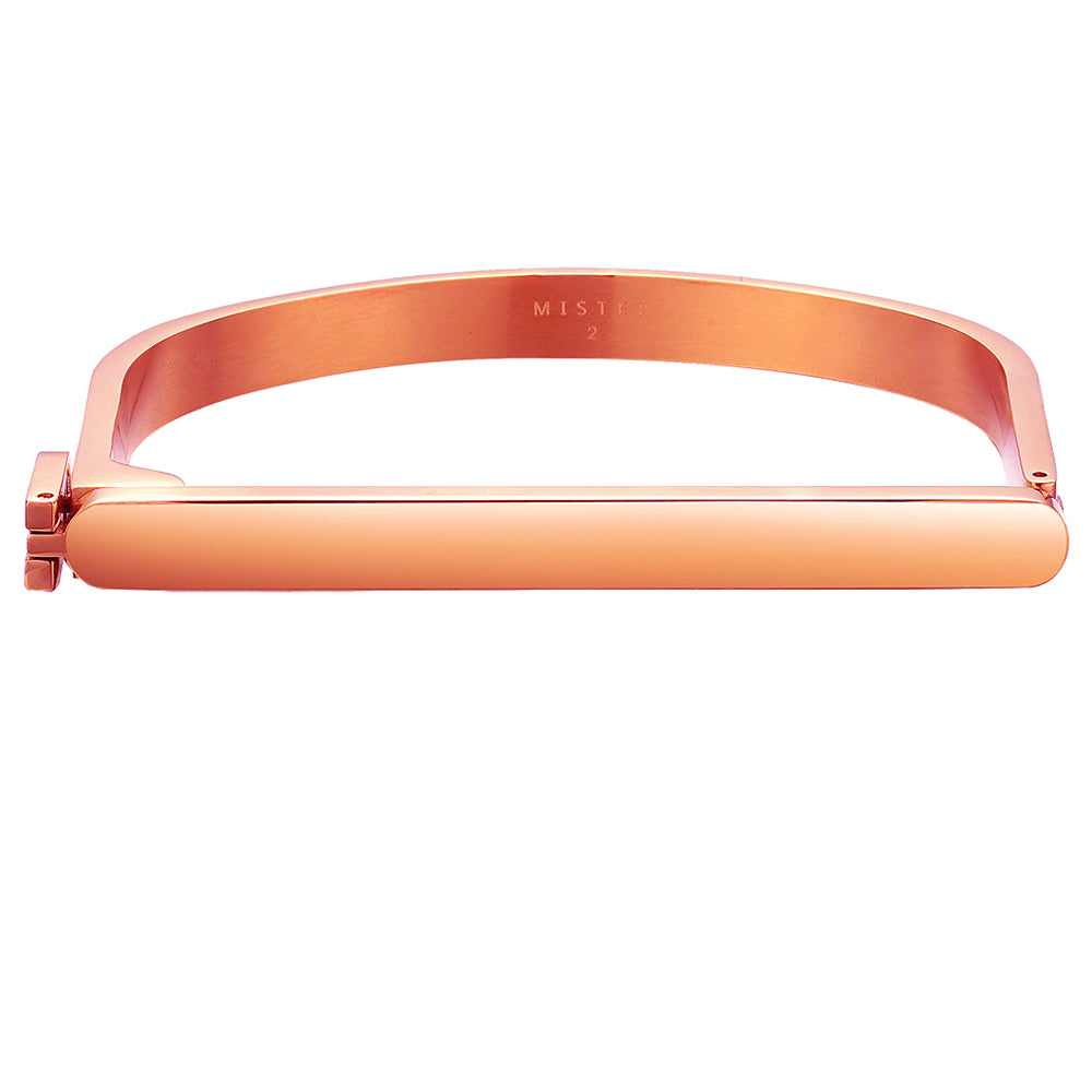 Mister Bar Bracelet - Rose Gold