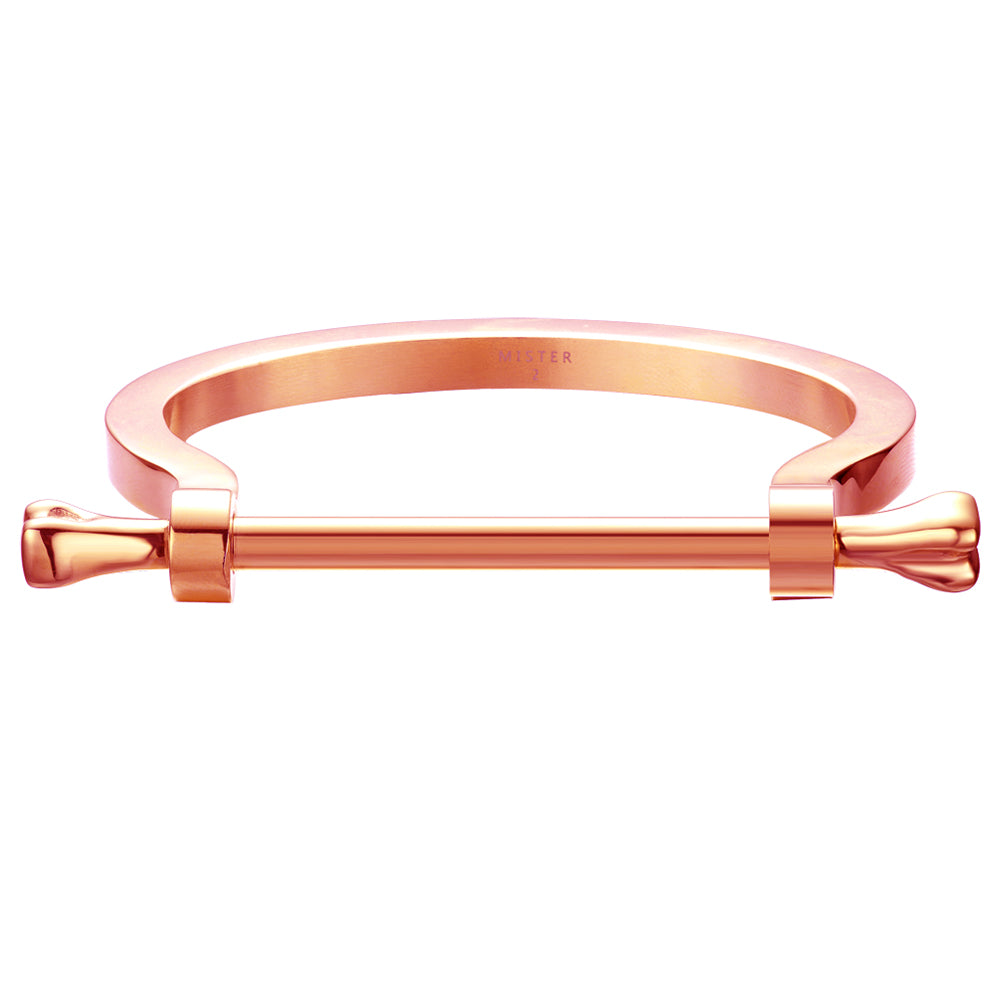 *Mister  Bone Bracelet - Rose Gold