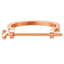 *Mister  Key Bracelet - Rose Gold