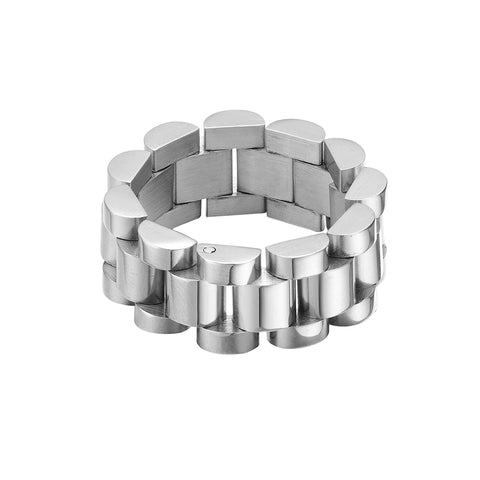 Mister Band Ring - Chrome