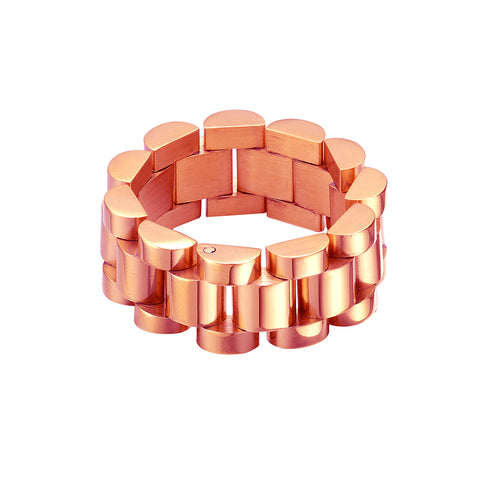 Mister Band Ring - Rose Gold