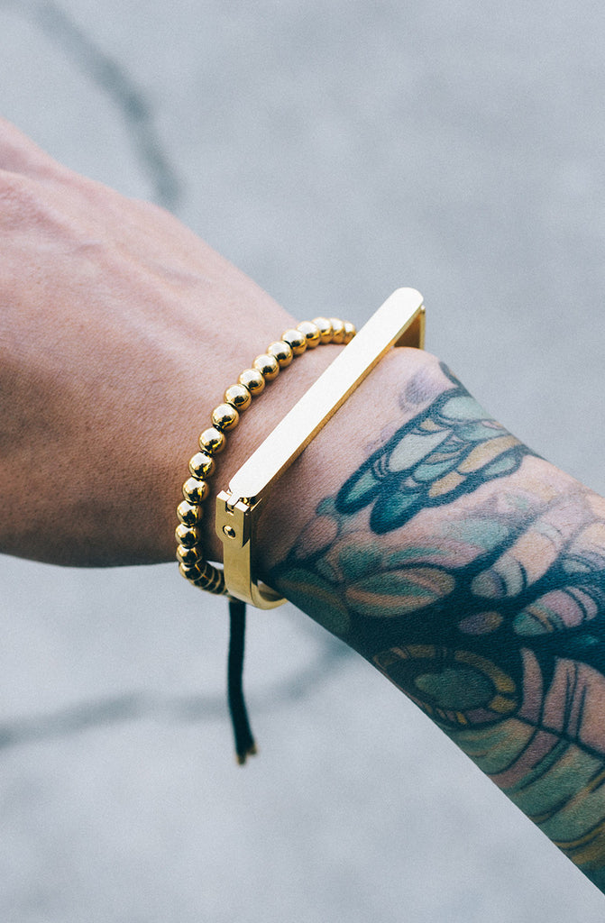 Mister Bar Bracelet - Gold - Mister SFC - 3