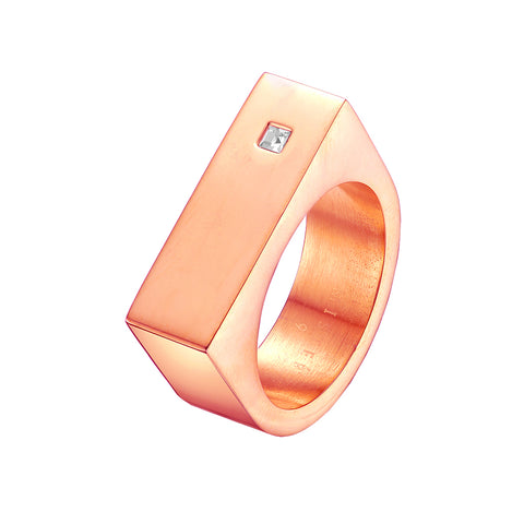 Mister Bars Ring - Rose Gold