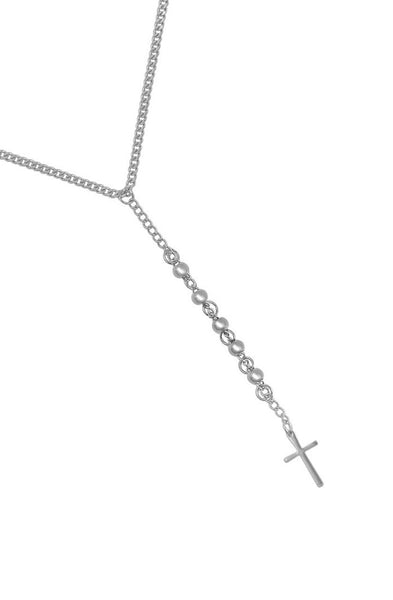 Mister Bless Necklace - Chrome