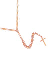 Mister Bless Necklace - Rose Gold
