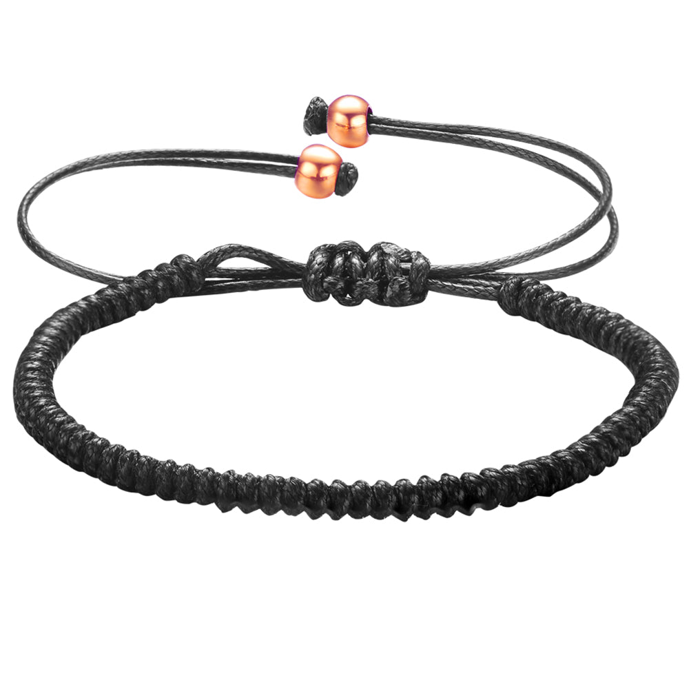 Mister Core Bracelet - Black & Rose Gold