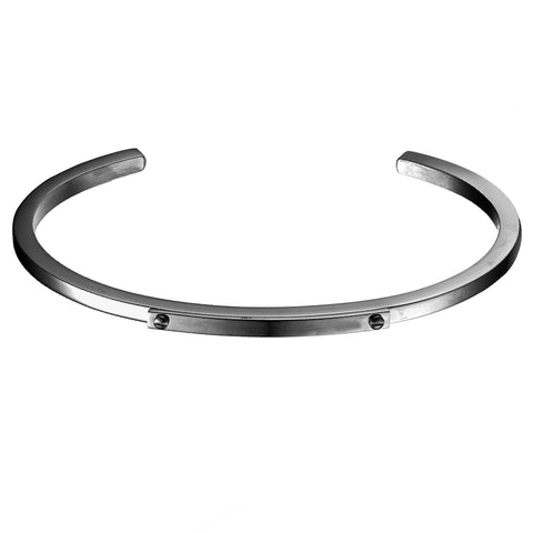 *Mister Level ID Cuff Bracelet - Black
