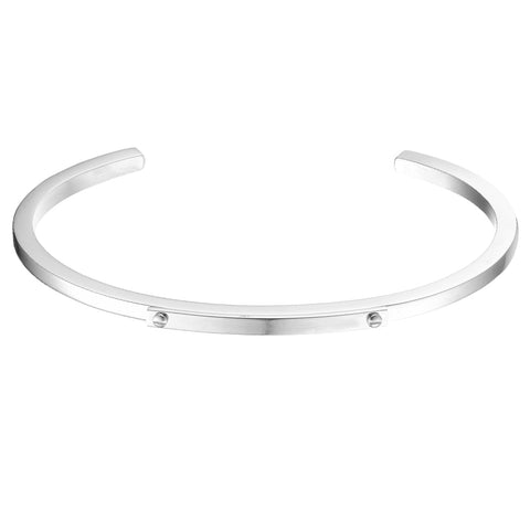 *Mister Level ID Cuff Bracelet - Chrome