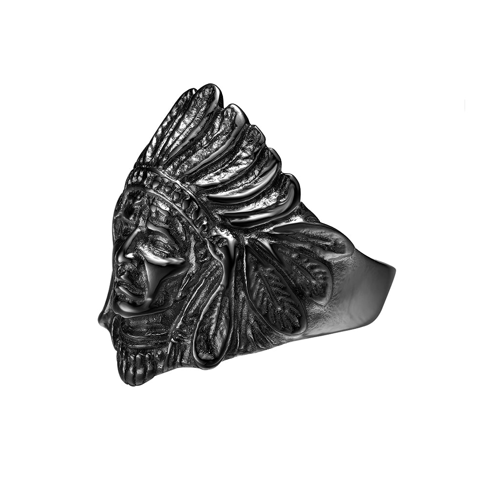 *Mister  Chief Ring - Black (8)