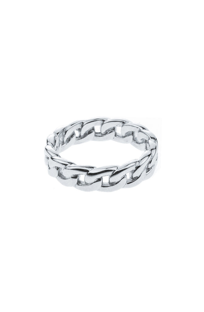 Mister  Cable Silver Ring - 925 - Mister SFC