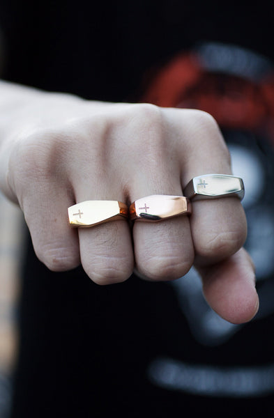 Mister Coffin Ring - Rose Gold - Mister SFC - 3