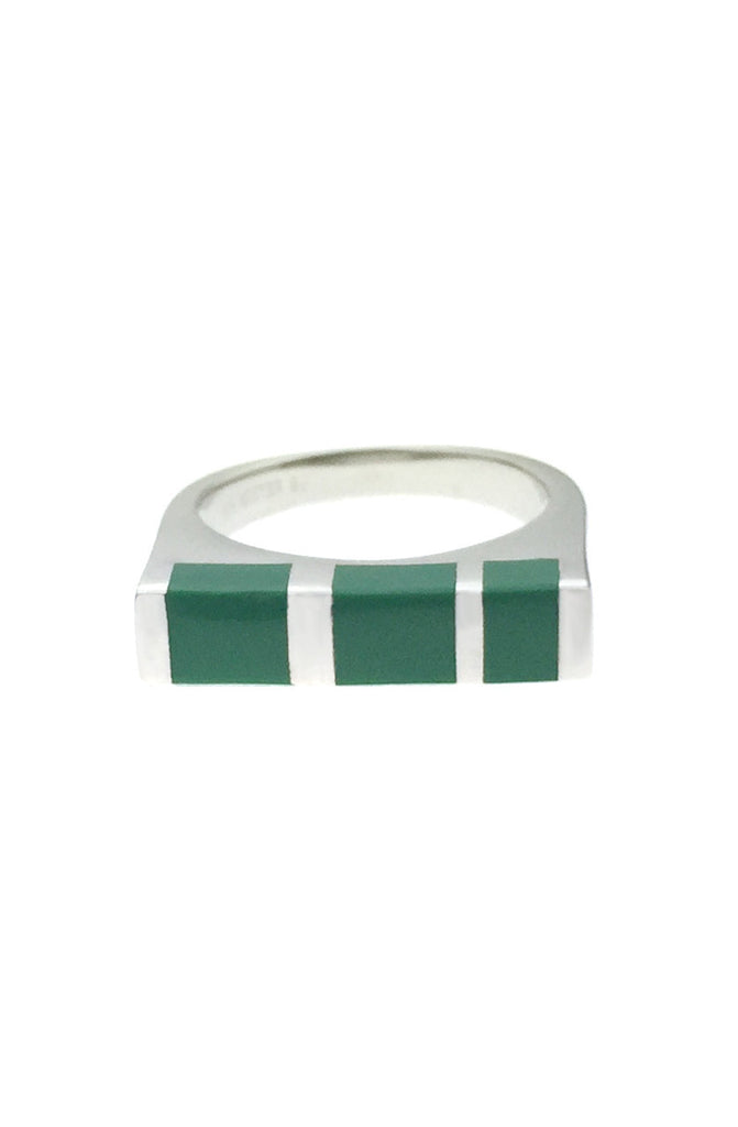 Mister  Cube Silver Ring - 925 - Mister SFC - 1