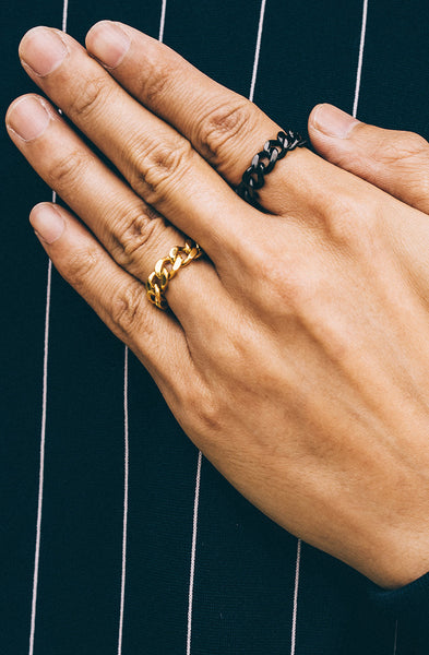 Mister Curb Ring - Gold - Mister SFC - 2