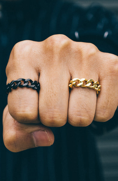 Mister Curb Ring - Gold - Mister SFC - 3