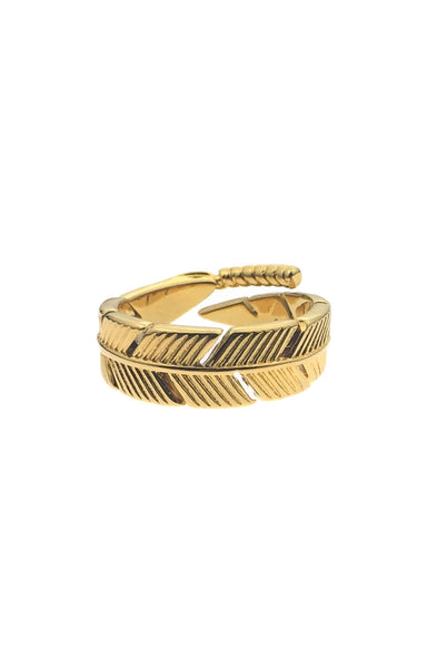 *Mister Feather Ring - Gold - Mister SFC - 2