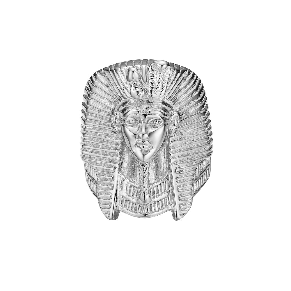 *Mister  King Tut Ring - Chrome
