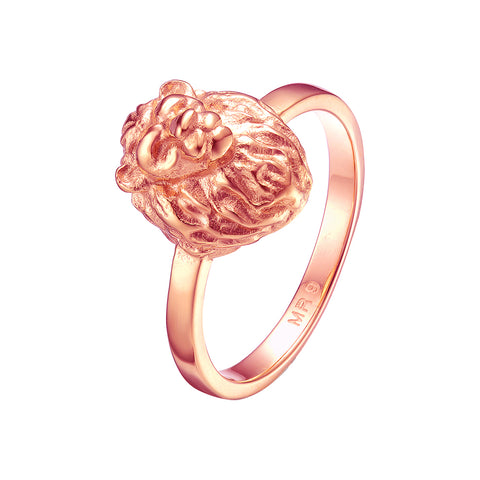 *Mister Lion Ring - Rose Gold