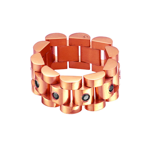 Mister  Lynx Ring - Rose Gold