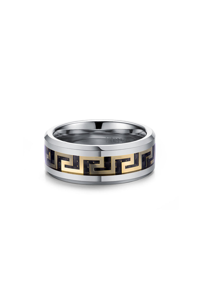 Mister Maze Ring - Chrome-ACCESSORIES,FOR HER-Mister SFC