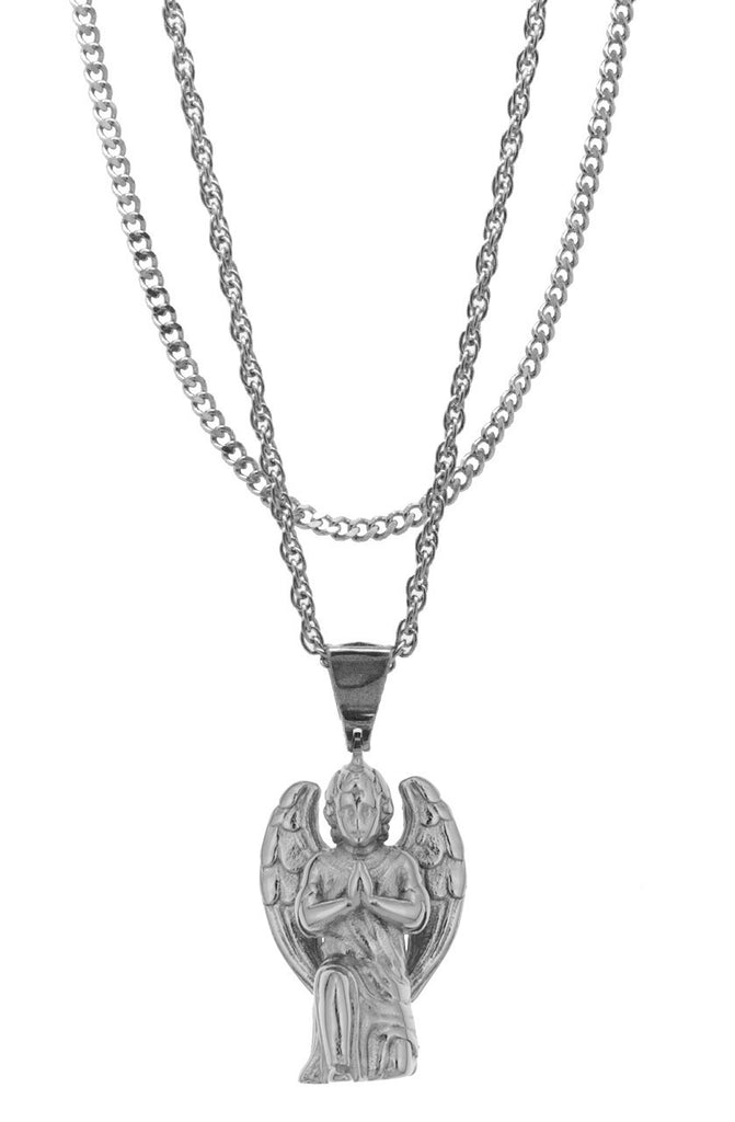 Mister  Cherub Necklace - Chrome - Mister SFC
