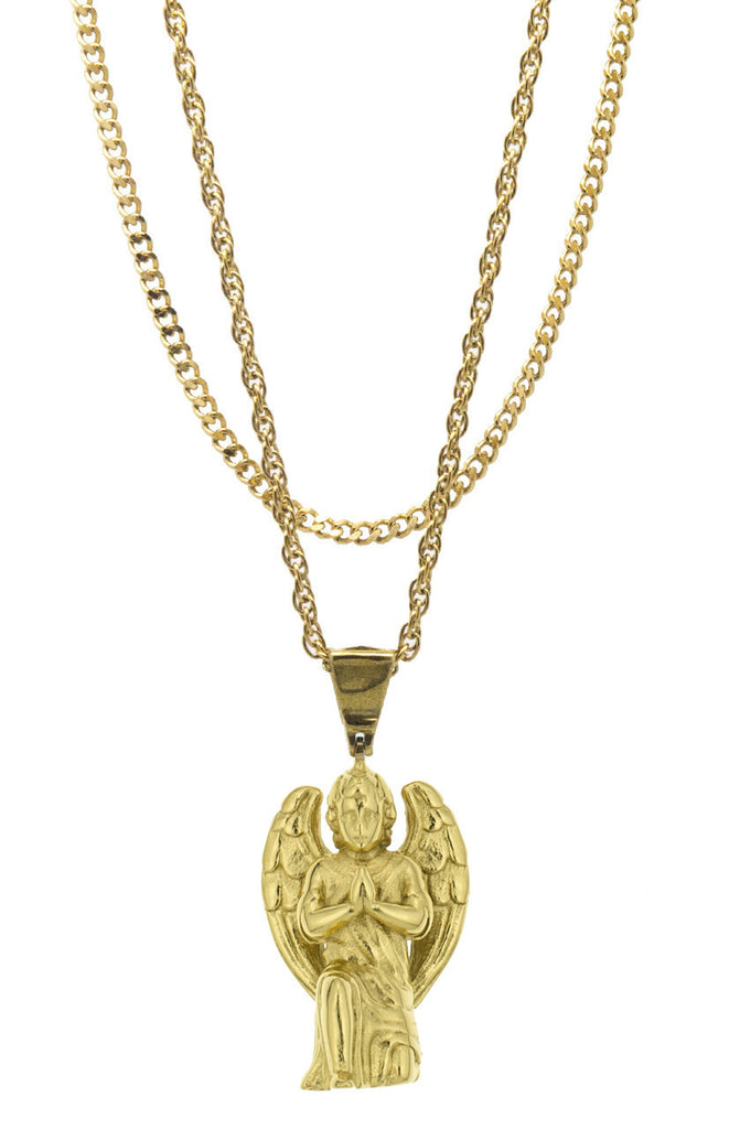 Mister  Cherub Necklace - Gold - Mister SFC