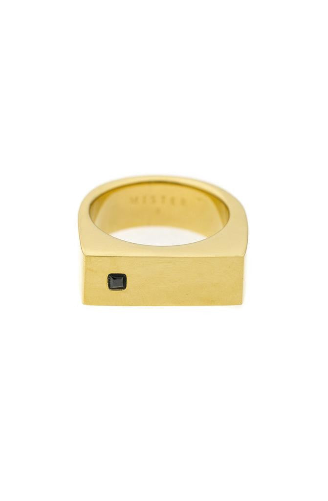Mister Bars Ring - Gold & Black