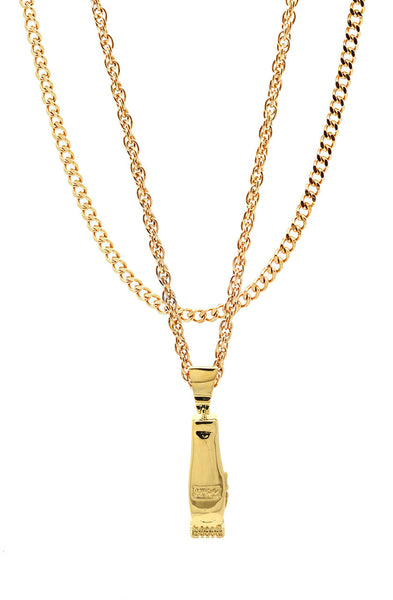 Mister  Clipper Necklace - Gold - Mister SFC - 1