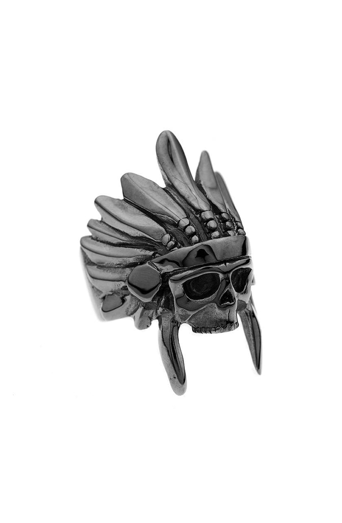 *Mister  Indian Chief Ring - Black - Mister SFC