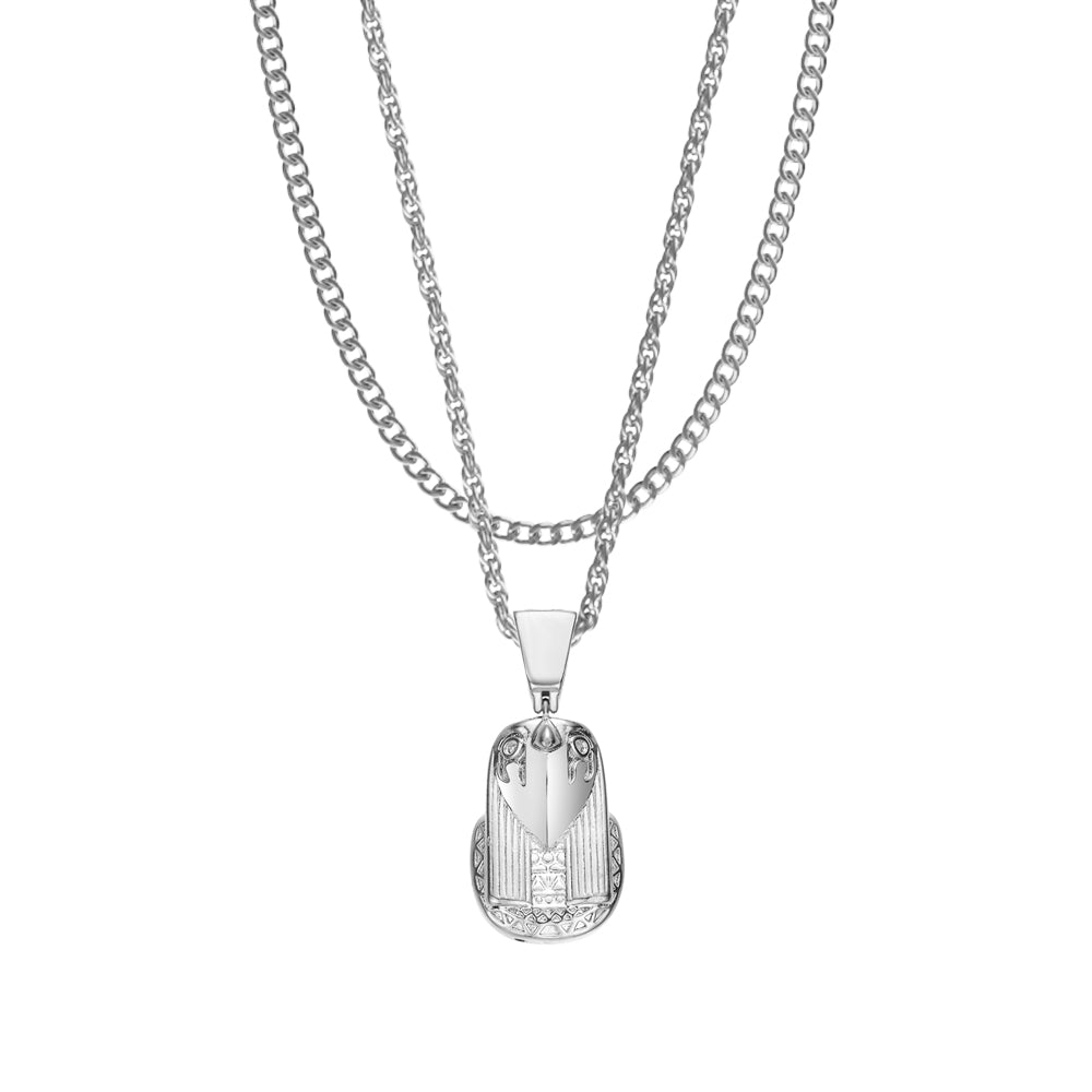 Mister  Hiero Necklace - Chrome