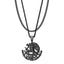 Mister  MX Eagle Necklace - Black