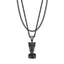Mister  Nefertiti Necklace - Black