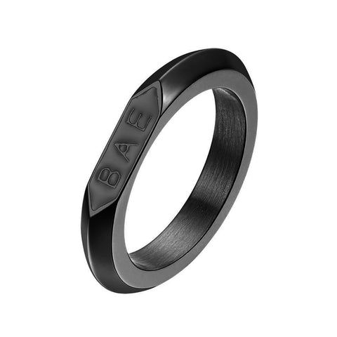 *Mister Bae Ring - Black