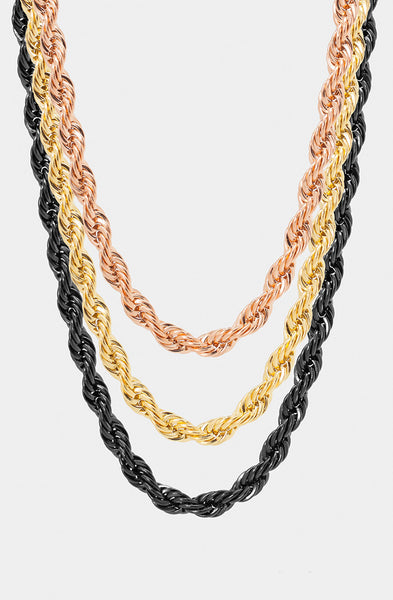 Mister Rope Necklace - Rose Gold - Mister SFC - 3