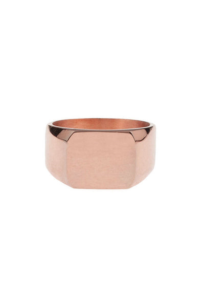 Mister Signet Ring - Rose Gold - Mister SFC - 1