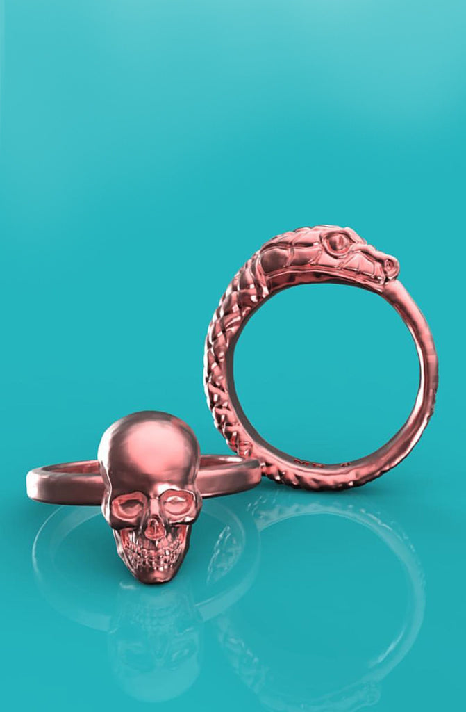 Mister Ouroboros Ring - Rose Gold - Mister SFC - 3