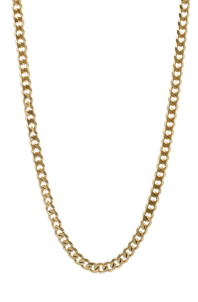 Mister Facet Curb Chain - Gold - Mister SFC