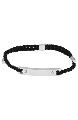 Mister Essential Plus Bracelet - Black & Chrome - Mister SFC - 1
