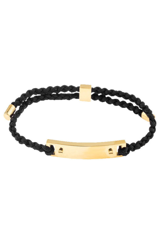 Mister Essential Plus Bracelet - Black & Gold - Mister SFC - 1