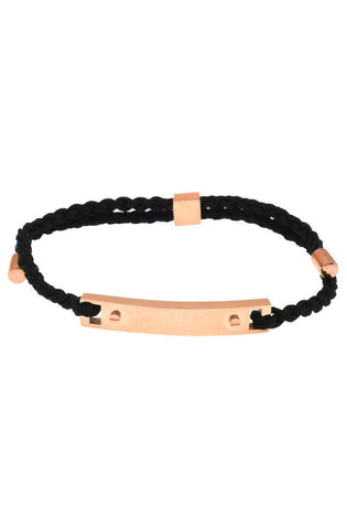 Mister Essential Plus Bracelet - Black & Rose Gold - Mister SFC - 1