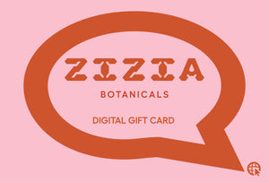 online gift card zizia adaptogens medicinal mushrooms tinctures organic natural skincare extracts herbal powders herbalist los angeles zizia botanicals digital gift card